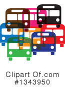 Royalty-Free (RF) Bus Clipart Illustration #1343950