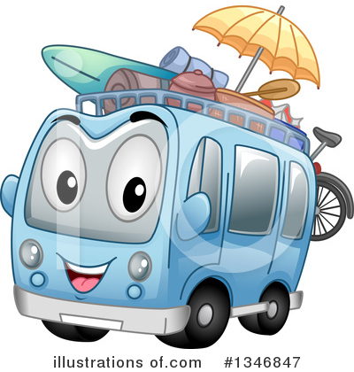 Travel Clipart #1346847 by BNP Design Studio