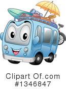 Royalty-Free (RF) Bus Clipart Illustration #1346847