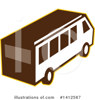 Bus Clipart #1412567 by patrimonio