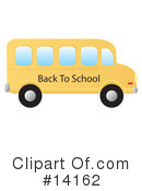 Royalty-Free (RF) Bus Clipart Illustration #14162