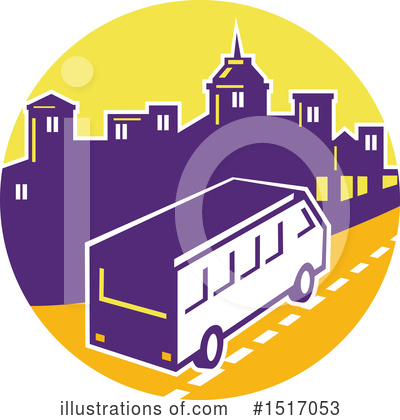 Bus Clipart #1517053 by patrimonio