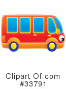 Bus Clipart #33791 by Alex Bannykh