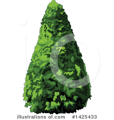 Tree Clipart #1425433 by Pushkin