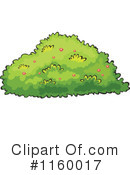 Royalty-Free (RF) Bushes Clipart Illustration #1160017