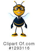 Business Bee Clipart #1293116 by Julos