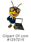 Business Bee Clipart #1297215 by Julos
