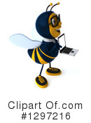 Business Bee Clipart #1297216 by Julos