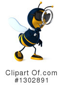 Business Bee Clipart #1302891 by Julos