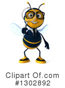 Business Bee Clipart #1302892 by Julos
