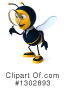 Business Bee Clipart #1302893 by Julos