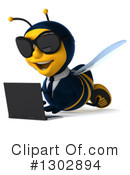 Business Bee Clipart #1302894 by Julos