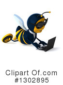 Business Bee Clipart #1302895 by Julos