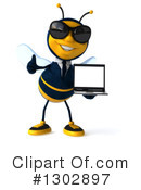 Business Bee Clipart #1302897 by Julos