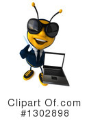 Business Bee Clipart #1302898 by Julos