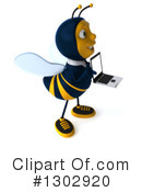 Business Bee Clipart #1302920 by Julos