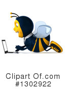 Business Bee Clipart #1302922 by Julos