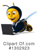 Business Bee Clipart #1302923 by Julos
