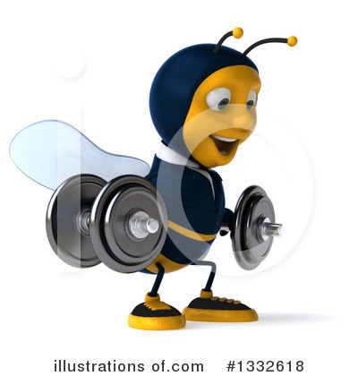Business Bee Clipart #1332618 by Julos