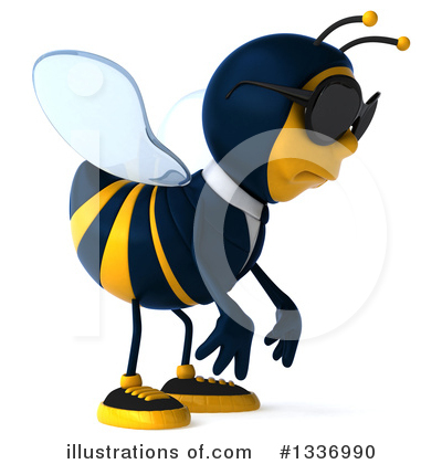 Business Bee Clipart #1336990 by Julos