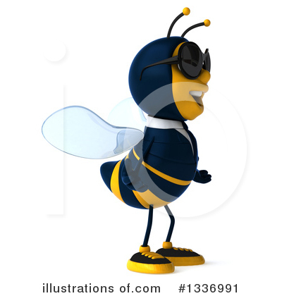 Business Bee Clipart #1336991 by Julos