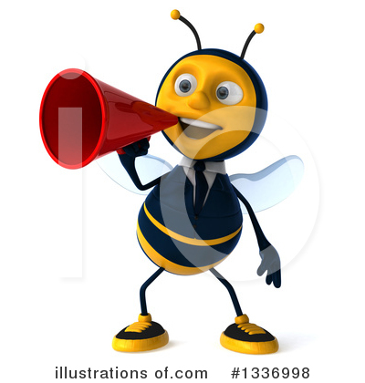 Business Bee Clipart #1336998 by Julos