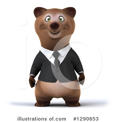 Brown Bear Clipart #1290653 by Julos