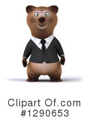 Business Brown Bear Clipart #1290653 by Julos