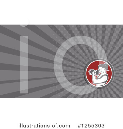 Royalty-Free (RF) Business Card Design Clipart Illustration by patrimonio - Stock Sample #1255303