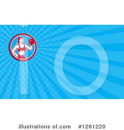 Royalty-Free (RF) Business Card Design Clipart Illustration by patrimonio - Stock Sample #1261220