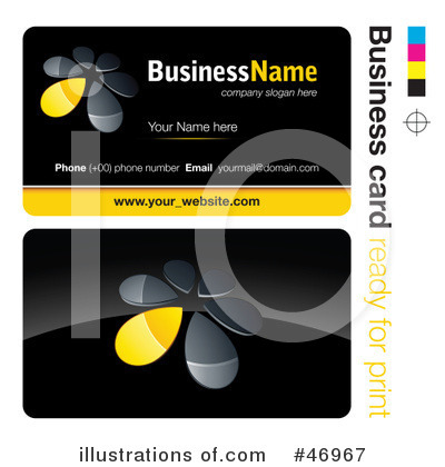 Business Card Design Clipart #46967 by beboy