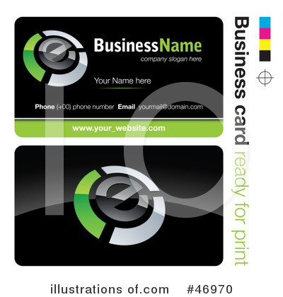Business Card Design Clipart #46970 by beboy