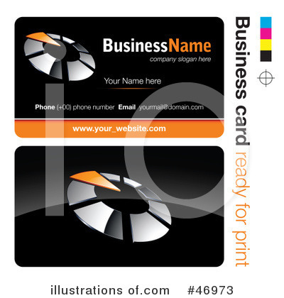 Business Card Design Clipart #46973 by beboy