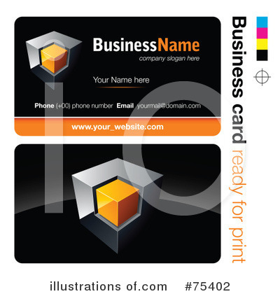 Business Card Design Clipart #75402 by beboy