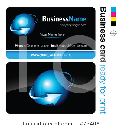 Business Card Design Clipart #75406 by beboy