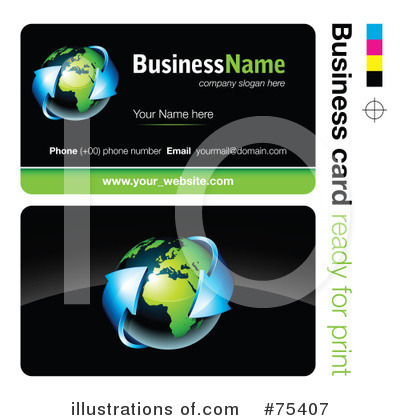 Business Card Design Clipart #75407 by beboy