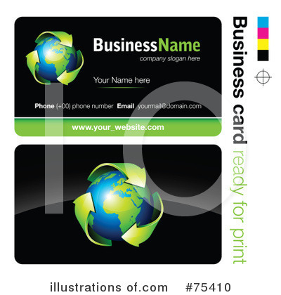 Business Card Design Clipart #75410 by beboy