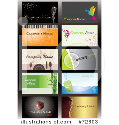 Business Card Clipart #72803 by Eugene