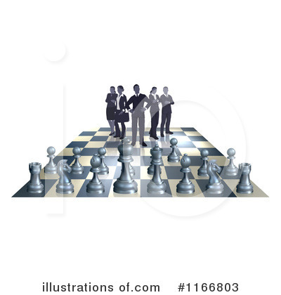 Chess Clipart #1166803 by AtStockIllustration