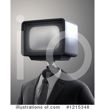 Tv Clipart #1215348 by Mopic