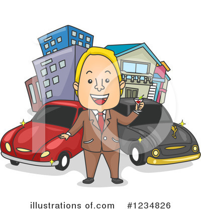 Man Clipart #1234826 by BNP Design Studio