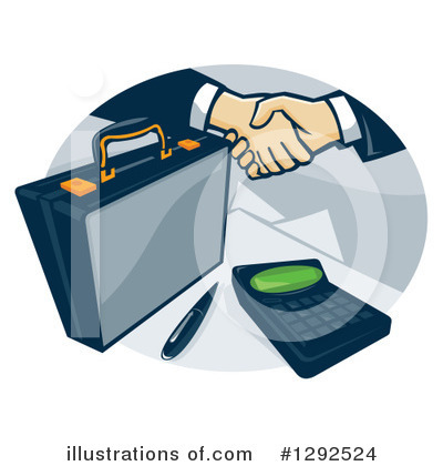 Businessman Clipart #1292524 by patrimonio