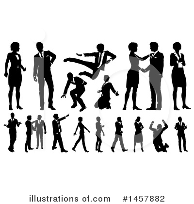 Karate Clipart #1457882 by AtStockIllustration