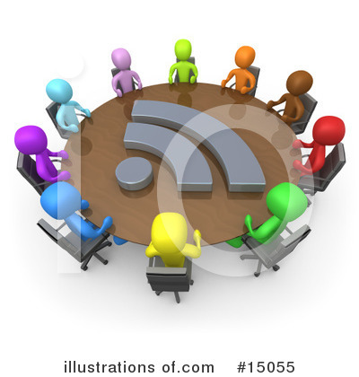 Blog Clipart #15055 by 3poD