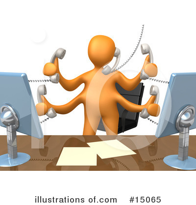 Communications Clipart #15065 by 3poD