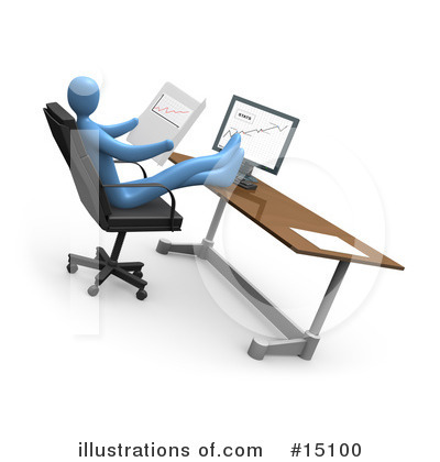 Business Clipart #15100 by 3poD