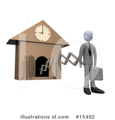Clock Clipart #15492 by 3poD