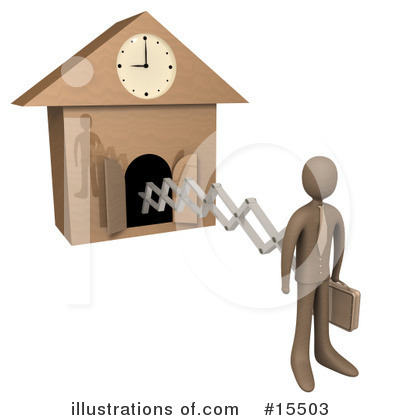 Clock Clipart #15503 by 3poD