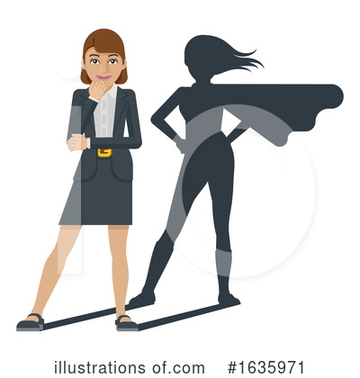 Business Woman Clipart #1635971 by AtStockIllustration
