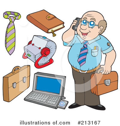 Computer Clipart #213167 by visekart
